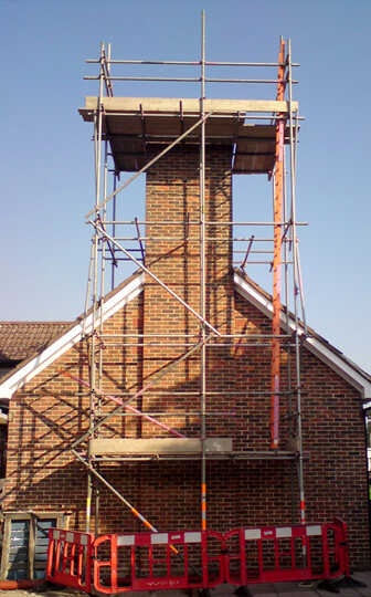 Residential Scaffolding Services Hampshire Dorset - JSS Scafolding
