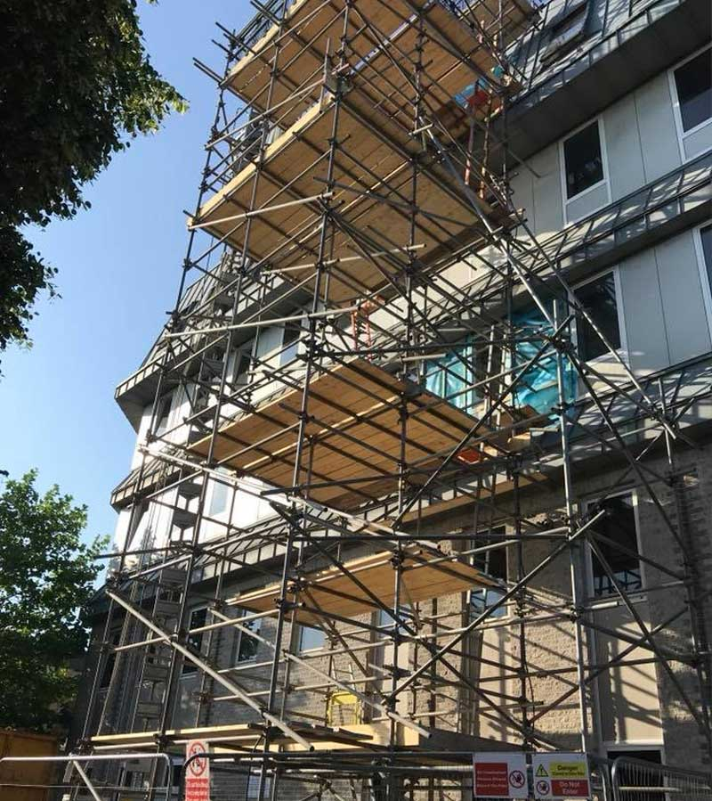 Residential Scaffold Project - JSS Scaffolding Hampshire