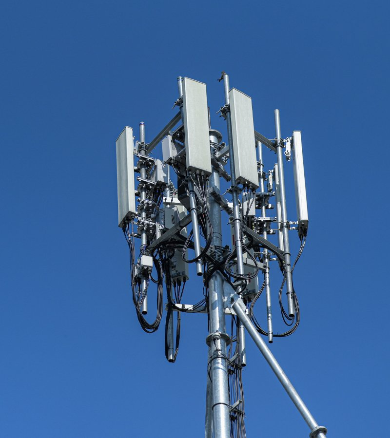 Telecomunication-Scaffolding for mobile antennae repairs