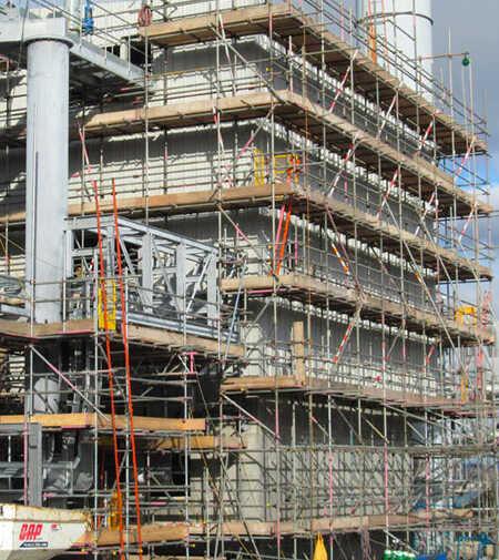 Industrial Scaffold Service JSS Scaffolding Hampshire & UK